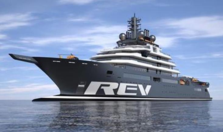 REV, el barco más grande del mundo para extraer plástico del océano