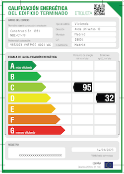 El certificado energético
