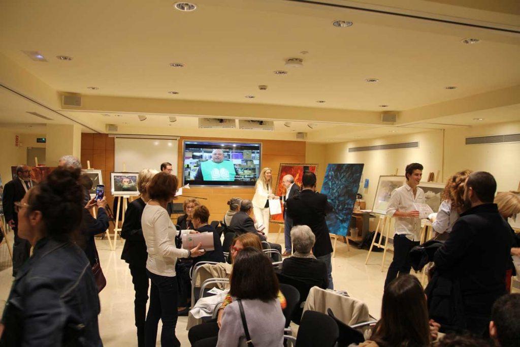 evento solidario art dels llibres finques bou